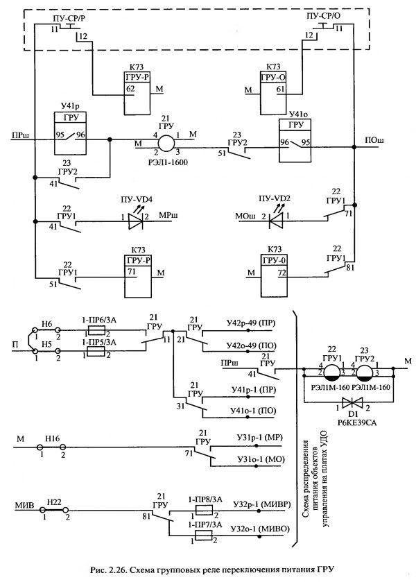 Общую электрическую схему