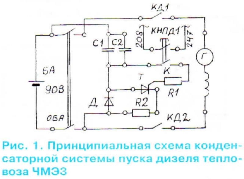 Она содержит 2 конденсатора С1
